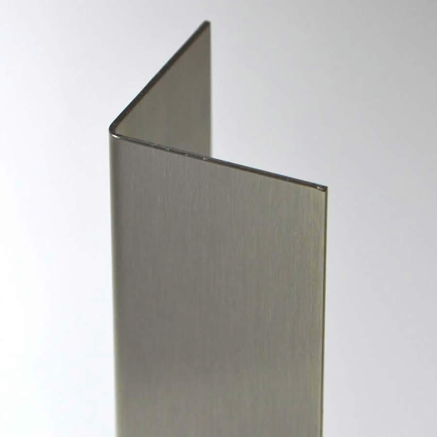 Aluminium Corner Guards : Quot gauge stainless steel corner guard